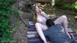 หนังโป๊ฝรั่ง นางแบบสาวสวสักลาหุ่นแซ่บมากๆโดนแฟนหนุ่มรุ่นพี่บ้ากามเงี่ยนจัดแอบพาไปเย็ดในป่าตอนกลางวันแสกๆ