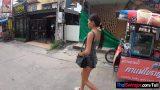 หนังxไทยสาวน้อยวัยกำลังดีผิวเข้มๆรับงานโดนลูกค้าฝรั่งควยใหญ่พานั่งรถไปเย็ดในโรงแรม