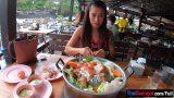 หนังxมาใหม่หมอนวดสาวไทยงานดีโดนลูกค้าฝรั่งพาไปกินหมูกระทะเอาแรงก่อนจะพาไปเชือดที่คอนโด